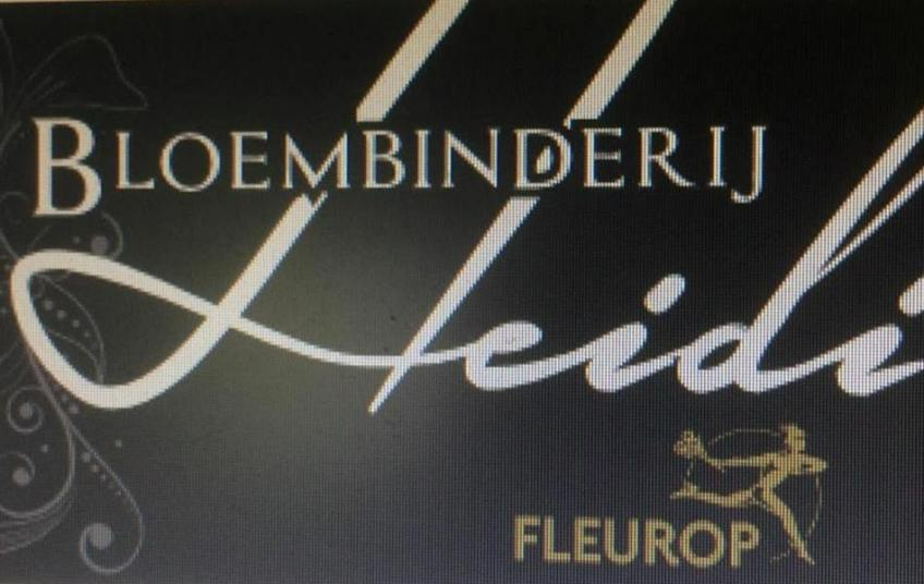 Logo Bloembinderij Heidi
